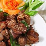 Thịt dê áp chảo